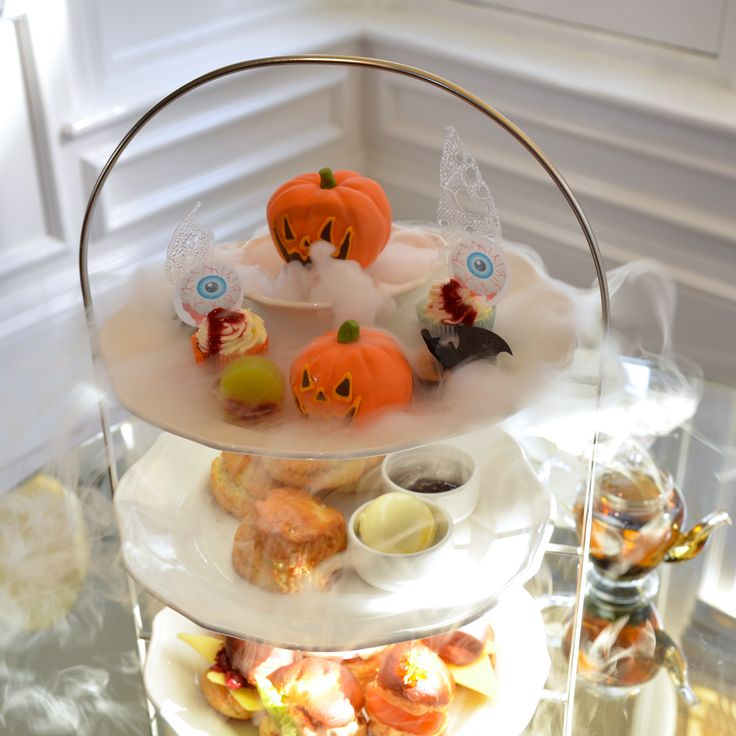 Halloween Afternoon Tea at The Ampersand Hotel, Kensington & Chelsea   What a FUN IDEA for Tea Time!