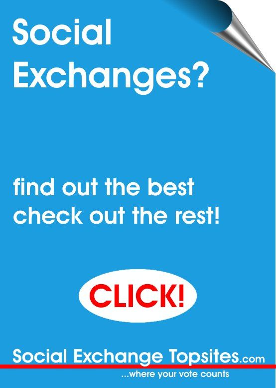 SocialExchangeTopsites.com - the home of the worlds top social exchanges - see who their members vote