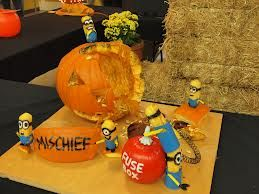 minion pumpkin carving - Google Search