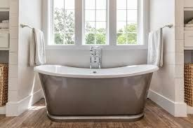 Bathtubs Idea Outstanding Cast Iron Freestanding Tub Castiron  with  Bathtubs Idea Cast Iron Freestanding Tub  Freestanding Tub Admirable  Polished Stainless Steel Bathtub With