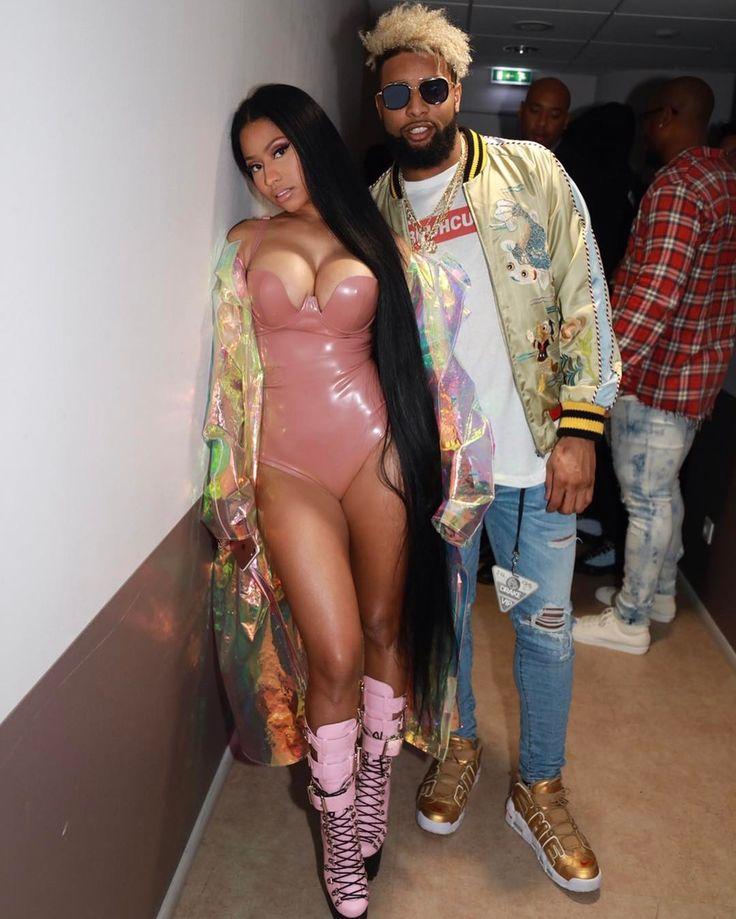 Nicki Minaj with Odell Beckham