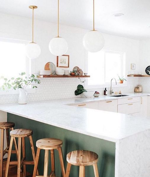 If A Kitchen Were Refreshing Sprig Of Mint It Would Be This One