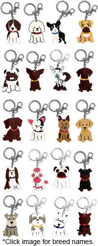 My Dog Breed Keychain. Buy a keychain from The Animal Rescue site and fund 14 bowls of food for rescued pets.
