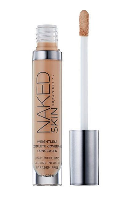 """Beauty Editors' Favorite Products Of 2015 #refinery29  http://www.refinery29.com/editor-best-beauty-products-2015#slide-12  """"This concealer is simply magical. It's creamy, but it doesn't crease. And it covers both dark circles and breakouts beautifully."""" — Dawn DavisUrban Decay Naked Skin Weightless Complete Coverage Concealer, $28, available at Urban Deca..."""