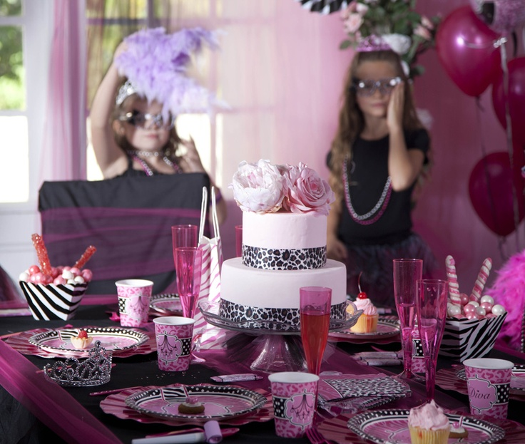 43 best images about Diva Zebra Print Party Ideas on ...
