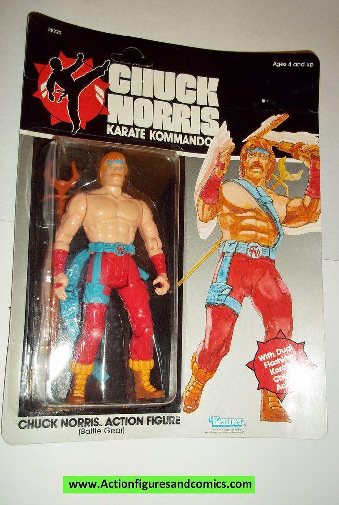 chuck norris karate kommandos CHUCK NORRIS BATTLE GEAR moc ...