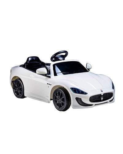 Ride+On+Cars+Kid's+Maserati+Gran+Cabrio+White