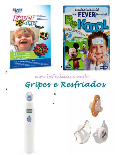 gripes e resfriados em bebês e crianças itens indispensáveis