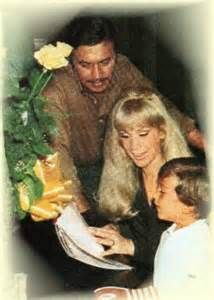 Barbara with husband Michael Ansara and son Matthew