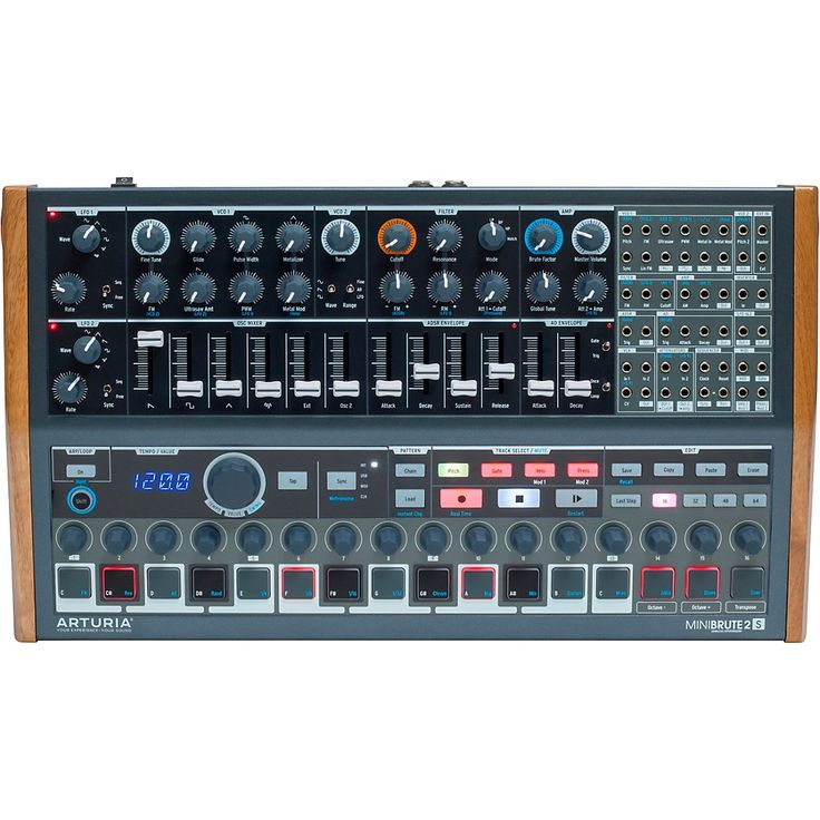 minibrute 2s analog desktop synthesizer sequencer in 2019 products. Black Bedroom Furniture Sets. Home Design Ideas