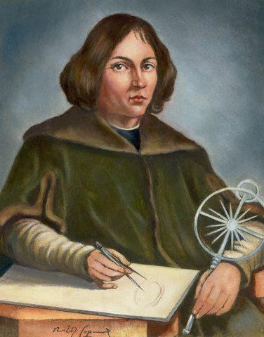 Nicolas Copernic,  est un chanoine, médecin et astronome polonais. Il est célèbre pour avoir développé et défendu la théorie de l'héliocentrisme selon laquelle le Soleil se trouve au centre de l'Univers et la Terre tourne autour de lui — contre la croyance répandue qu'elle était centrale et immobile. Les conséquences de cette théorie — dans le changement profond des points de vue scientifique, philosophique et religieux qu'elle imposa — sont baptisées révolution copernicienne.