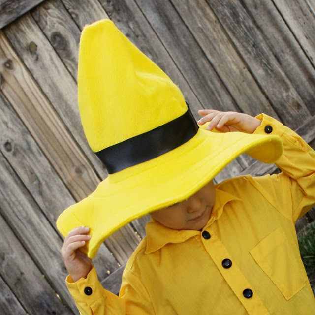 man with the yellow hat tutorial