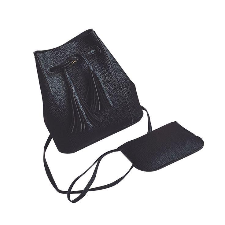 $8.22 (Buy here: https://alitems.com/g/1e8d114494ebda23ff8b16525dc3e8/?i=5&ulp=https%3A%2F%2Fwww.aliexpress.com%2Fitem%2FWomen-Handbag-Solid-Color-Leather-Tassel-String-Shoulder-Bag-Fashion-Design-Messenger-Bag-Vintage-Bucket-Bolsas%2F32783012317.html ) Women Handbag Solid Color Leather Tassel String Shoulder Bag Fashion Design Messenger Bag Vintage Bucket Bolsas De Ombro #5221 for just $8.22