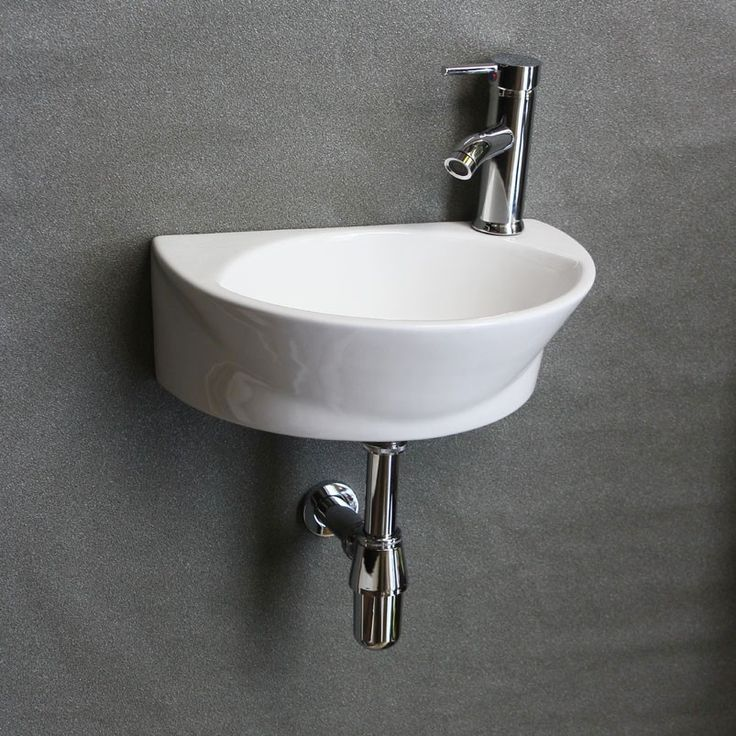 Cloakroom Basin, Cloakroom Sink, Wash Hand Basin, Small Basins Bath  - Small corner sinks for small bathrooms