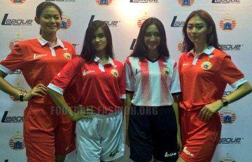 Persija Jakarta 2015 Home, Away and Third Kits