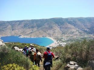 Hiking and Enjoying the beautiful view