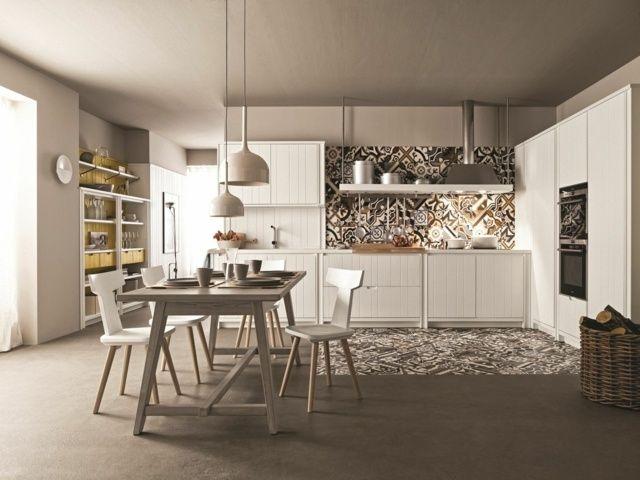 Die besten 25+ klassische weiße Küche Ideen auf Pinterest - interieur in weis und marmor blockhaus bilder