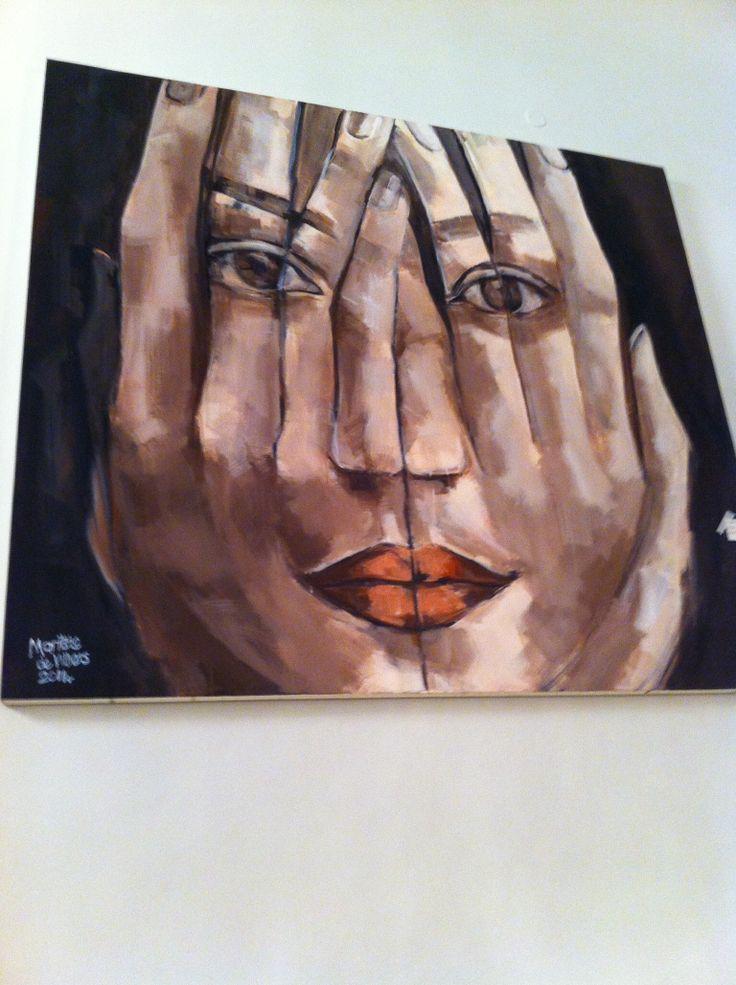 Marittie de Villiers art at Benguela Cove for Hermanus FynArts