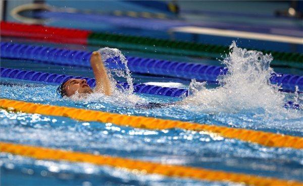 A Magyar Paralimpiai Bizottság (MPB) által közreadott képen Vereczkei Zsolt az…