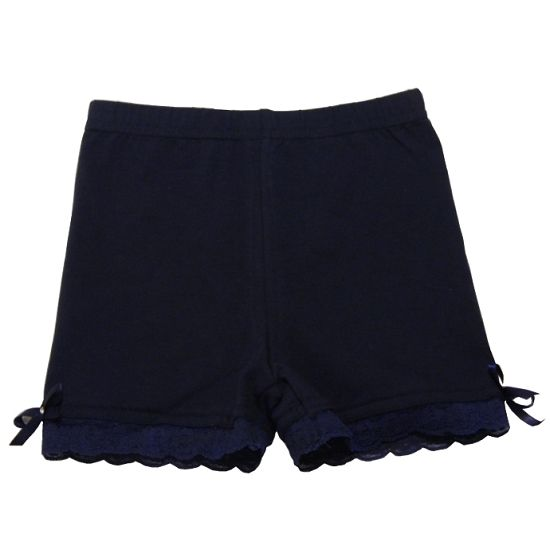 Undershorts, modesty shorts or playground shorts Navy colored modesty shorts for under skirts and dresses.  Super cute and come in different colors for girls ages 3 to 10 years old.  Now on sale for $12.50 CAD each.