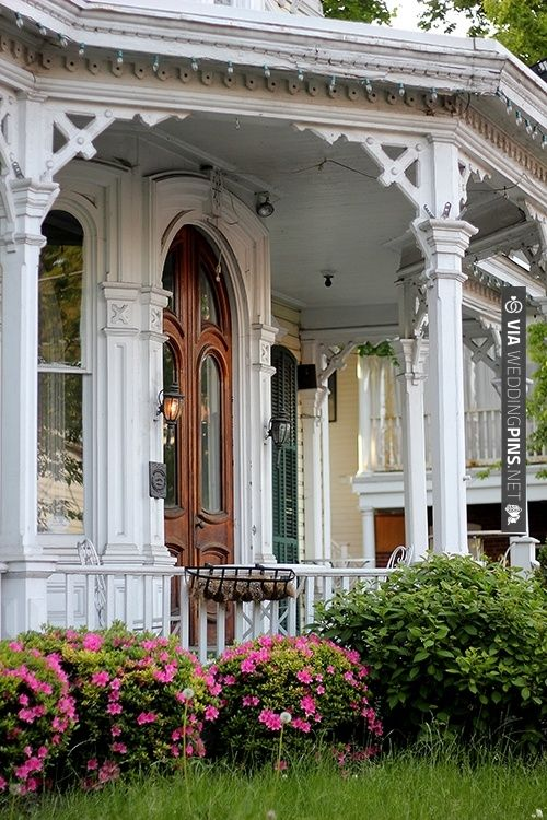 Porch For Pictures And Greetings Via Weddingpins Net