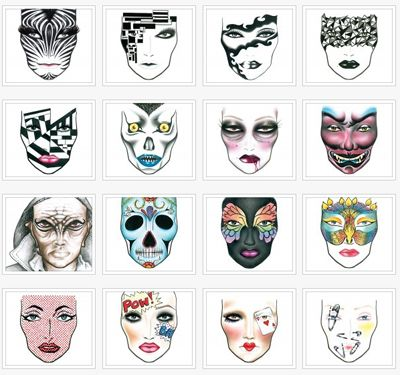 13 best inspiration images on Pinterest | Drawings, Faces and Make up