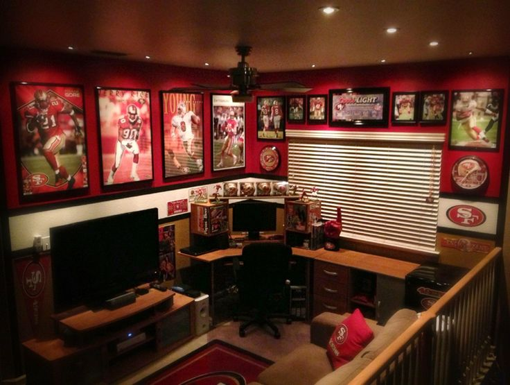 san francisco 49er room theme - Google Search