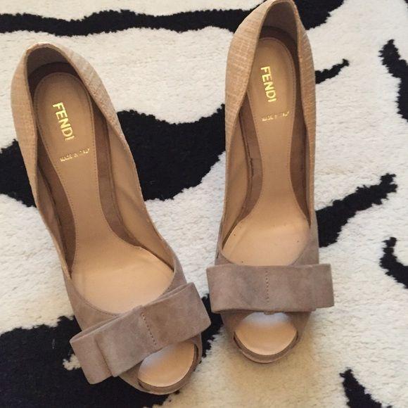Fendi peep toe pumps | Peep toe pumps