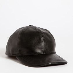 Roots - Bellwoods Leather Baseball Cap