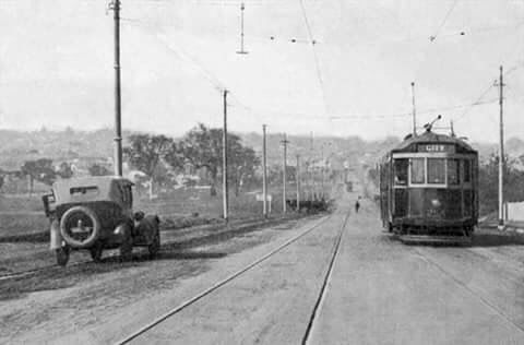 Camberwell Rd, 1920, looking south.