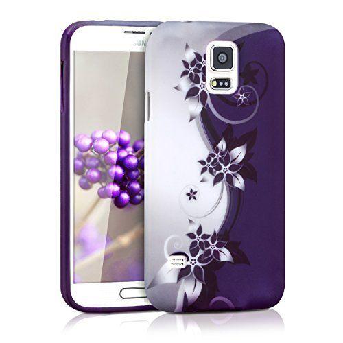 kwmobile TPU SILICONE CASE for Samsung Galaxy S5 / S5 Neo Flower design White Purple - Stylish designer case made of premium soft TPU, http://www.amazon.ca/dp/B00JYEQ8VI/ref=cm_sw_r_pi_awdl_1mqpxbND76N14