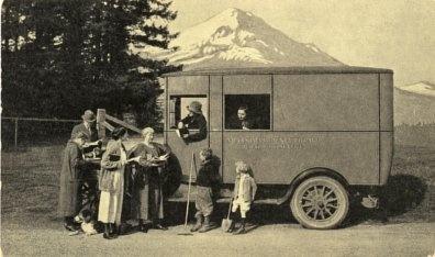 Graham Brothers book truck, Portland, Oregon, 1920s
