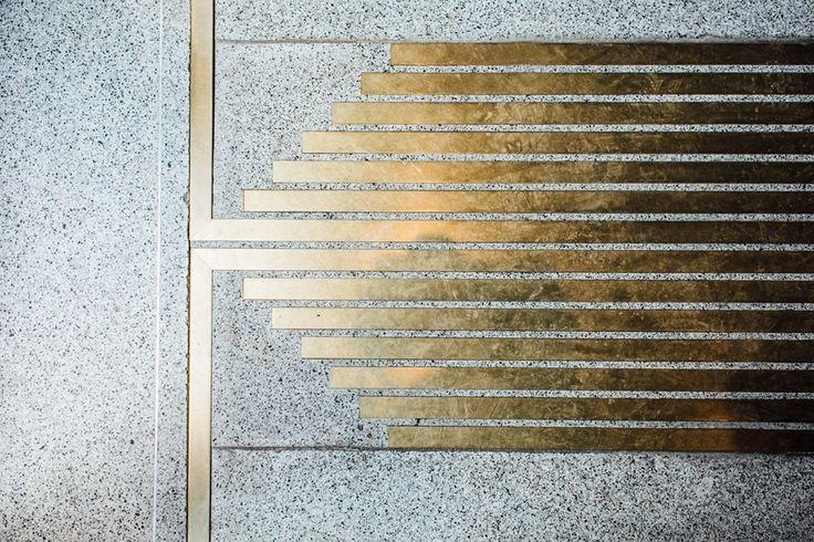 """Build Inc Architects adds brass """"veins"""" to Munich bar interior"""