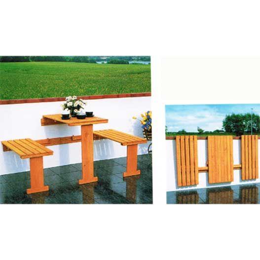 Las 25 mejores ideas sobre mesas y sillas plegables en - Mesas de madera plegables para exterior ...
