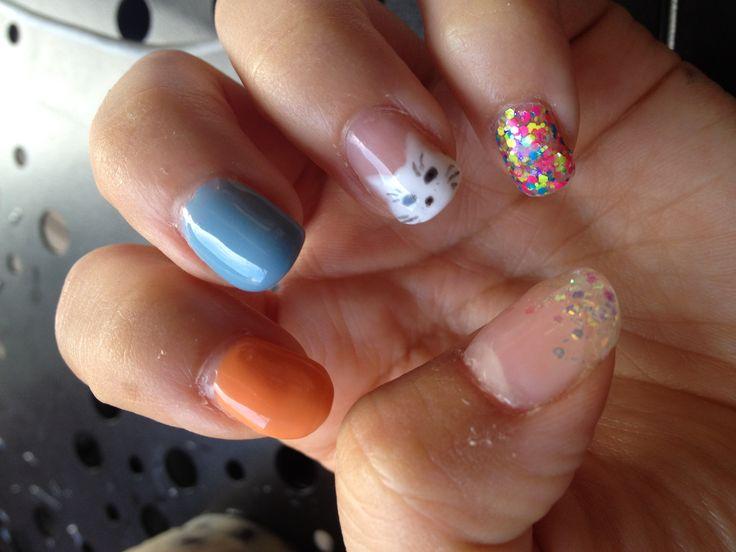 Fun and unique nail design