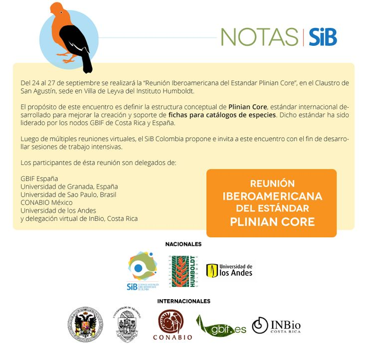 Nota sobre el Taller Iberoamericano del estándar Plinean Core