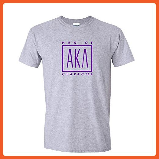Alpha Kappa Lambda Logo Short Sleeve Tee Small Sports Grey - Sports shirts (*Partner-Link)