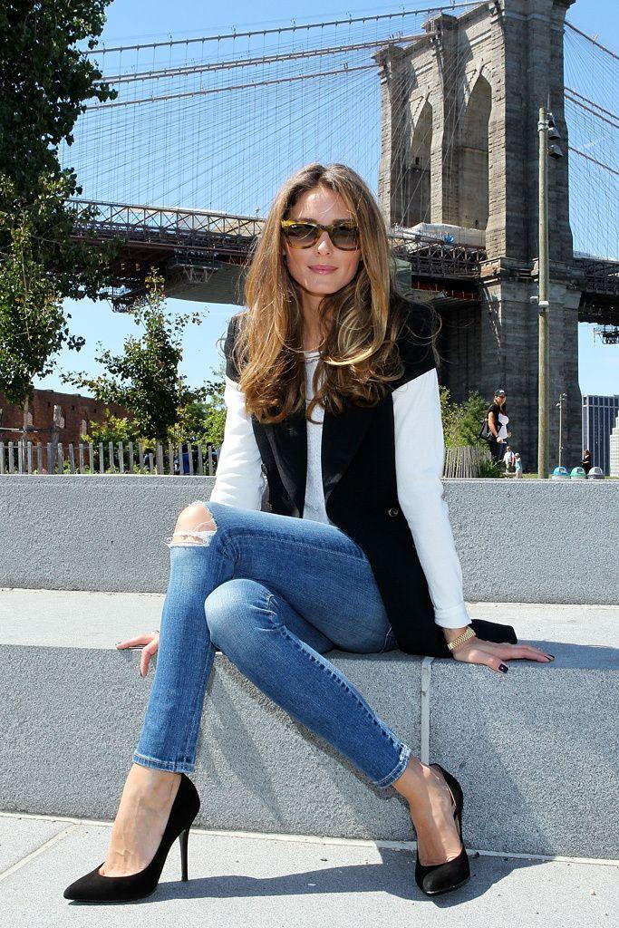 Amo que el jean pueda ser sport y elegante también