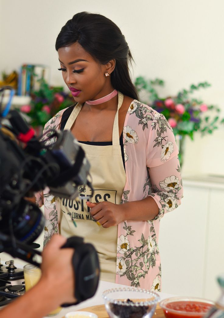 Behind the scenes and on set with The Hostess with Lorna Maseko: Episode 6