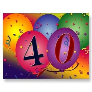 Special 40th Birthday Ideas