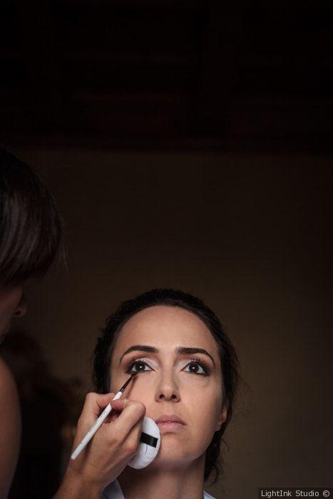 Trucco sposa per occhi scuri e make up con effetto smokey eyes