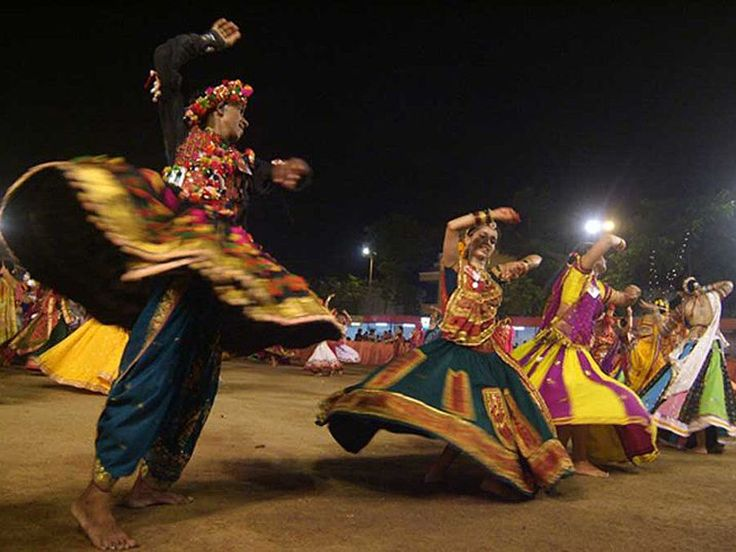 The Navratri , where goddess durga is revered for nine days is celebrated with the energetic garba dance in Gujarat. Visit Gujurat during Navratri to truly feel the spirit of Gujarat!