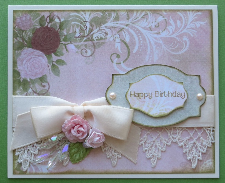 vintage birthday card  greeting card ideas  pinterest