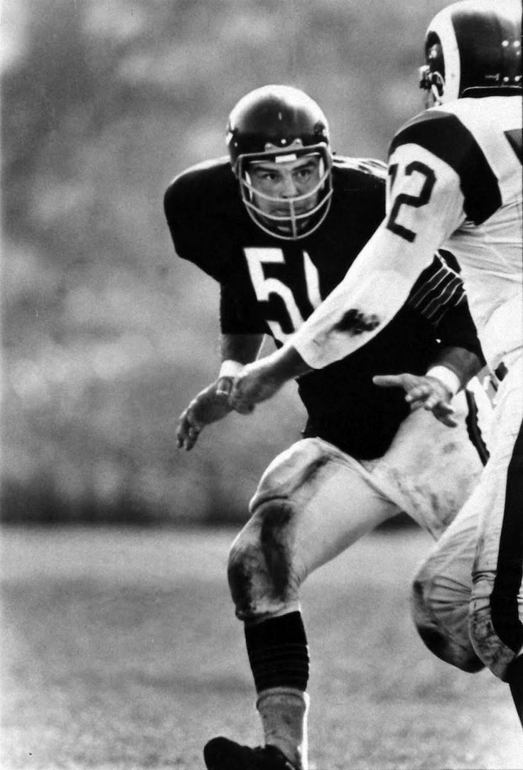 How dick butkus vs the nfl pussy\ love