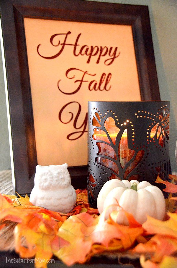 Better homes fall decorating