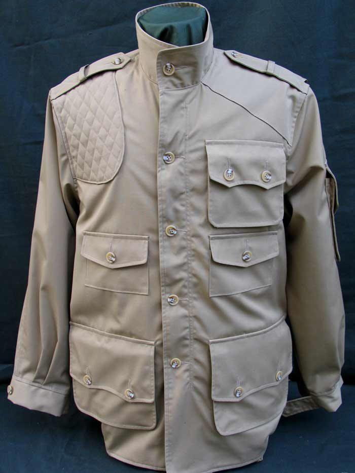 Bush Poplin Cotton Hunter Jacket -POCKETS POCKETS POCKETS
