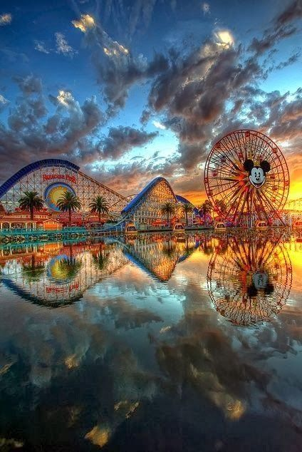 Disney California Adventure Park in Anaheim, CA - love this pic!