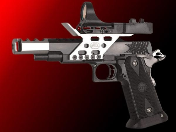 STI MatchMaster 38 Super This gun was crafted by the hand of God to fit my hand.