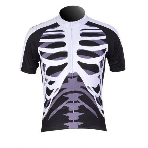 WOLFBIKE Men Cycling Jersey Bicycle Bike Cycle Short Sleeve Jersey Jacket Comfortable Breathable Shirts Tops, 3D Cushion Padded Shorts Tights Pants Sportswear Suit Set Breathable Quick Dry Black White. Jersey only, Size: XXL - http://ridingjerseys.com/wolfbike-men-cycling-jersey-bicycle-bike-cycle-short-sleeve-jersey-jacket-comfortable-breathable-shirts-tops-3d-cushion-padded-shorts-tights-pants-sportswear-suit-set-breathable-quick-dry-black-whit-2/