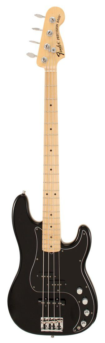Fender American Deluxe Precision Electric Bass Guitar Black